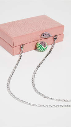 Edie Parker Jean Box with Fruit Topper