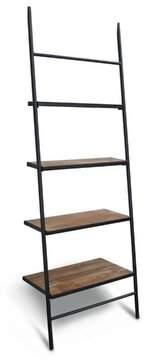 Gracie Oaks Burkholder Wood Leaning Ladder Bookcase Gracie Oaks
