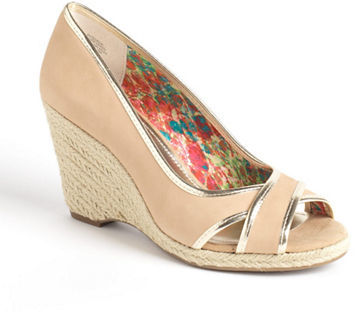 Anne Klein Teodor Espadrille Wedge Pumps