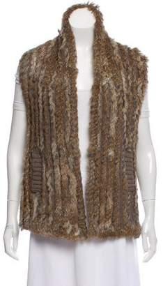Marc by Marc Jacobs Fur Wool Vest