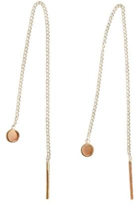 Women's Melissa Joy Manning Chain Threader Earrings $225 thestylecure.com
