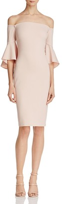 Laundry by Shelli Segal Off-The-Shoulder Dress $295 thestylecure.com