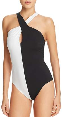 Amoressa Domino Jinx Twist One Piece Swimsuit
