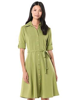 Sharagano Women's Shirt Dress