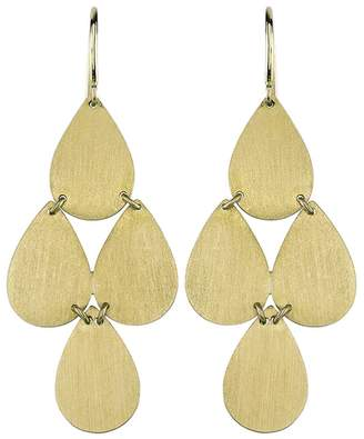 Irene Neuwirth Signature Small Teardrop Chandelier Earrings - Yellow Gold