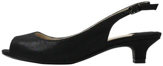 J. Renee J.Renee Satin Low Heel Pumps - Jenvey