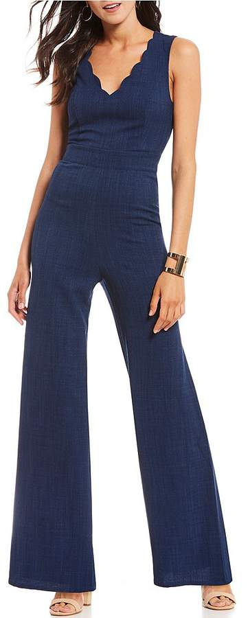 Sugarlips Scallop Jumpsuit