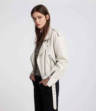 AllSaints Anderson Leather Biker Jacket