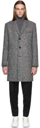 HUGO Grey Malte 1841 Coat