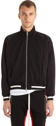 Fear Of God Zip-Up Satin Track Jacket
