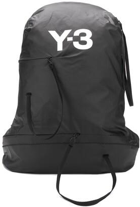 Y-3 logo print backpack