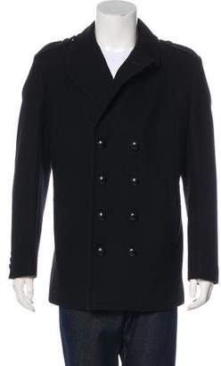 Givenchy Virgin Wool Peacoat