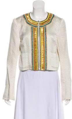 Sass & Bide Embellished Asymmetrical Blazer