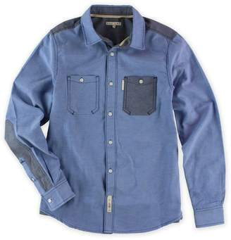 Ecko Unlimited Mens Utility Ox Ls Button Up Shirt M