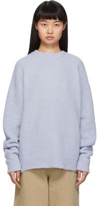 Tibi (ティビ) - Tibi ブルー Airy アルパカ セーター