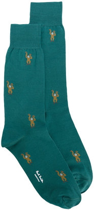 Paul Smith monkey socks $30 thestylecure.com