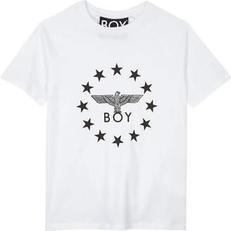 Boy London Globe star logo cotton T-shirt 3-12 years