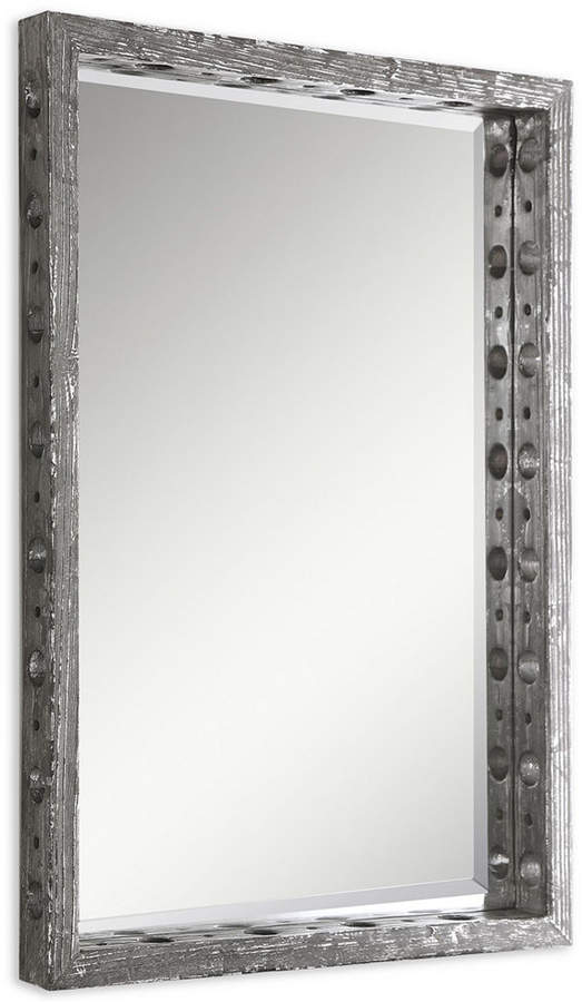 Uttermost Weber Distressed Silver Mirror