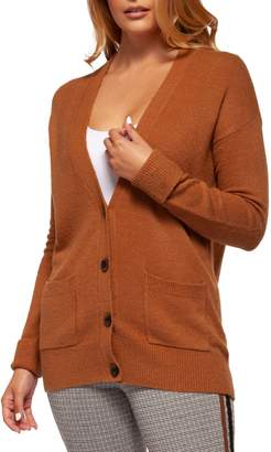 Dex Textured Long-Sleeve Cardigan