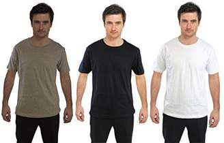 Modern Casuals Men's 3 Pack Of Cotton Plain T-Shirts