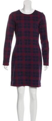 Marc by Marc Jacobs Wool-Blend Mini Dress