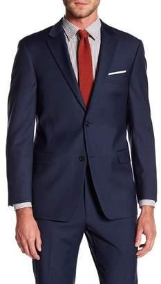 Tommy Hilfiger Adams Modern Fit TH Flex Performance Wool Blend Sharkskin Suit Separates Jacket