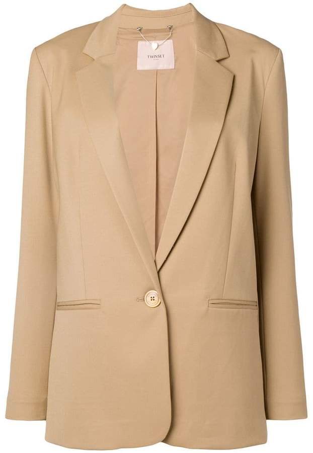 longline tailored blazer