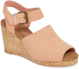 Toms Tropez Wedge Slingback Sandal