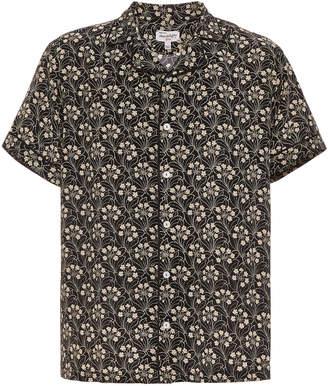 HVN Exclusive Printed Silk Shirt
