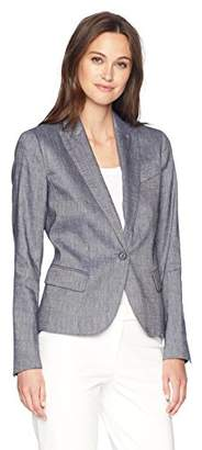 Anne Klein Women's Linen Twill Jacket