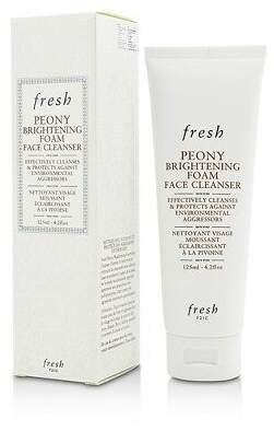 Fresh NEW Peony Brightening Foam Face Cleanser 125ml Womens Skin Care