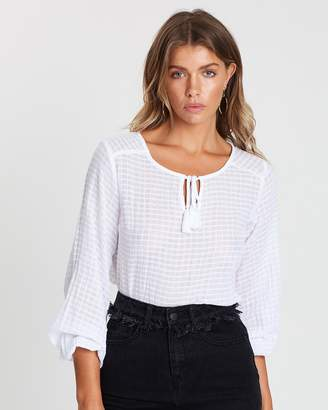Atmos & Here ICONIC EXCLUSIVE - Margot Gypsy Blouse