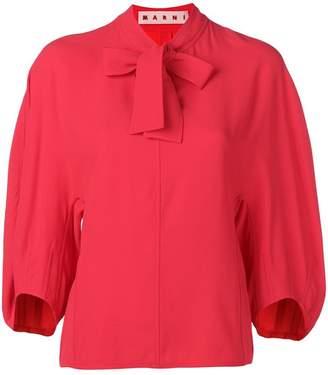 Marni bow blouse