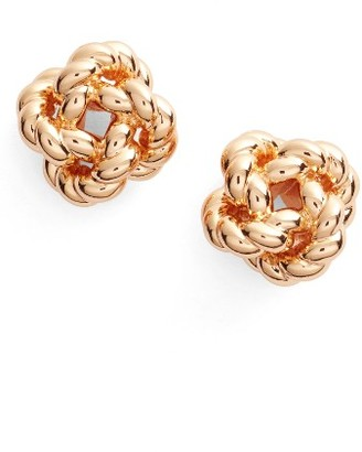 Women's Tory Burch Rope Knot Stud Earrings $75 thestylecure.com