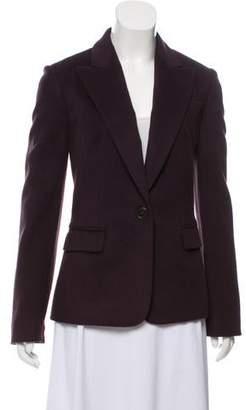 Michael Kors Virgin Wool Peak-Lapel Blazer