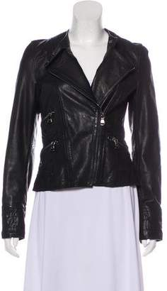 Dolce & Gabbana Casual Leather Jacket