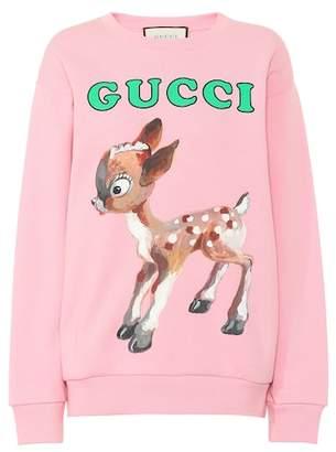 Gucci Fawn-printed sweatshirt