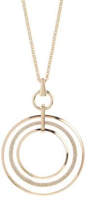 14th & Union Pave Oversized Pendant Necklace