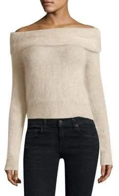Rag & Bone Mimi Off-The-Shoulder Sweater