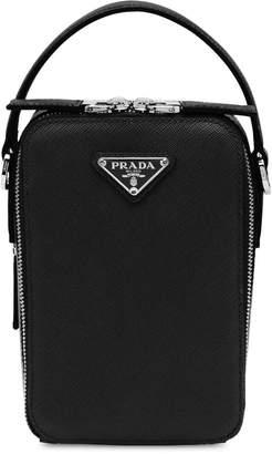 e06e1b6bcc79 Mens Top Leather Bag Prada - ShopStyle