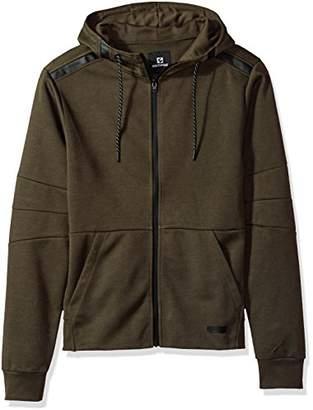 Southpole Men's Tech Fleece Hooded Tops (Full-Zip