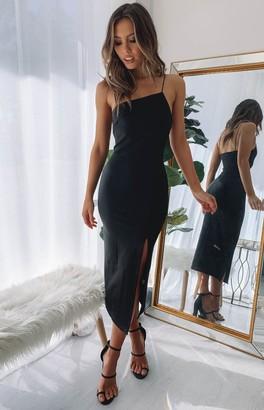 Beginning Boutique Cecilia Bodycon Dress Black