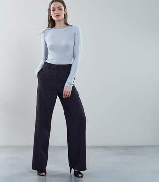 Reiss CONNIE Wool Blend Jumper Pale Blue