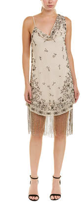 Haute Hippie Mojave Desert Silk-Blend Cocktail Dress