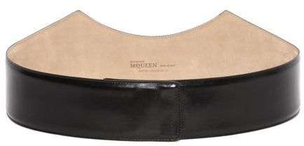 Alexander McQueen Leather Cathedral Arch Belt