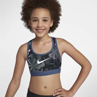 Nike Pro Classic Big Kids (Girls) Reversible Printed Sports Bra