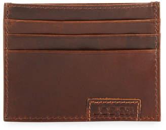 Joe Men's Crunch Leather Credit Card Case
