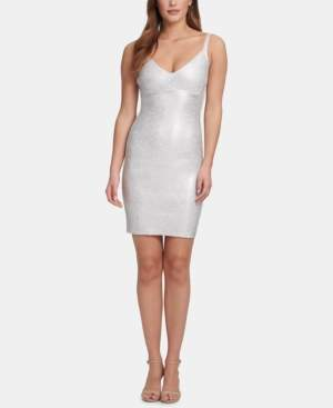 Marciano Sleeveless Foiled Bodycon Dress, Created for Macy's