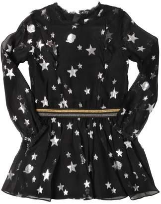 Zadig & Voltaire Metallic Stars Silk Voile Dress