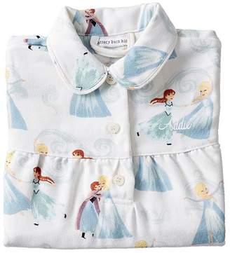 Pottery Barn Kids Disney Frozen Flannel Nightgown, 2T